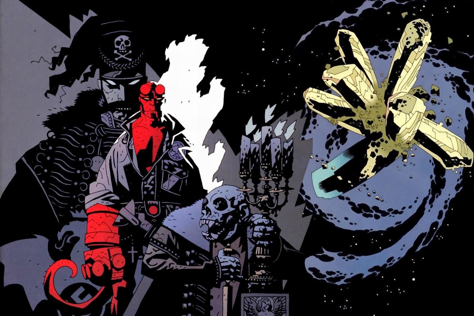 """Trip w/ Book: """"Геллбой. Колекційне видання. Том 1"""" — Червоний демон українською"""